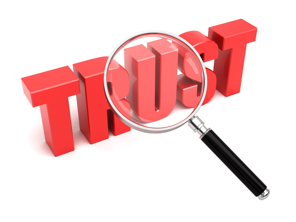 Domain Authority - a measure of trust