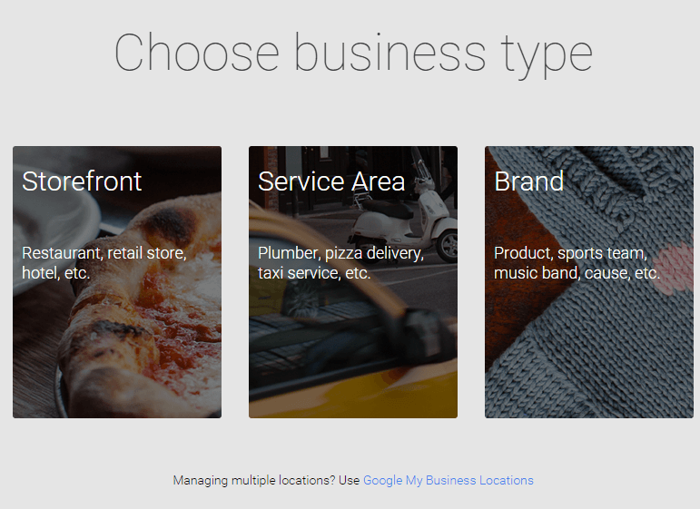 Get your Google business page