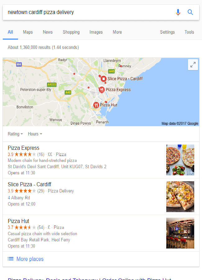 local SEO for multiple locations - Google local pack listings