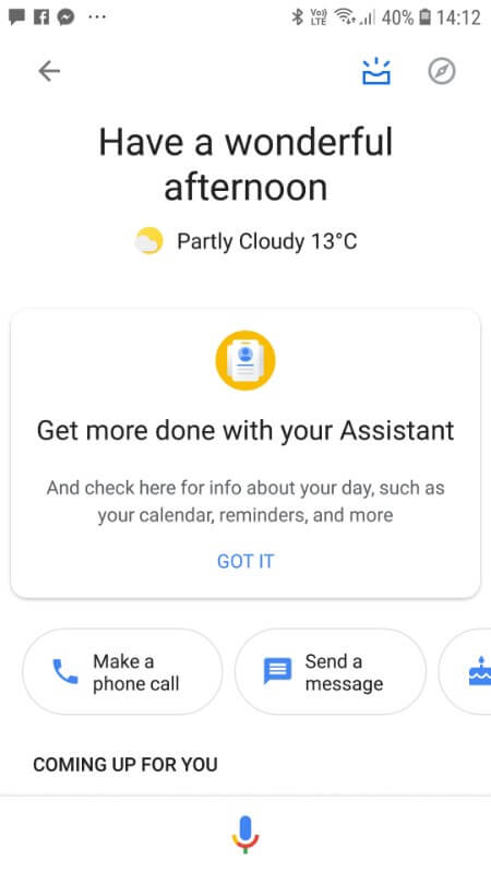 The 'Updates' tab is a feature in Google designed to help you get more out of your Google Assistant.