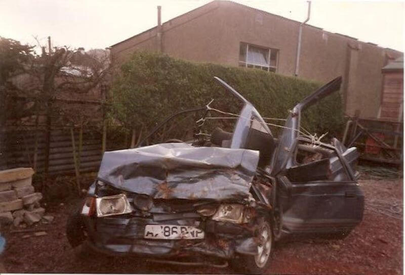Car accident that changed my life