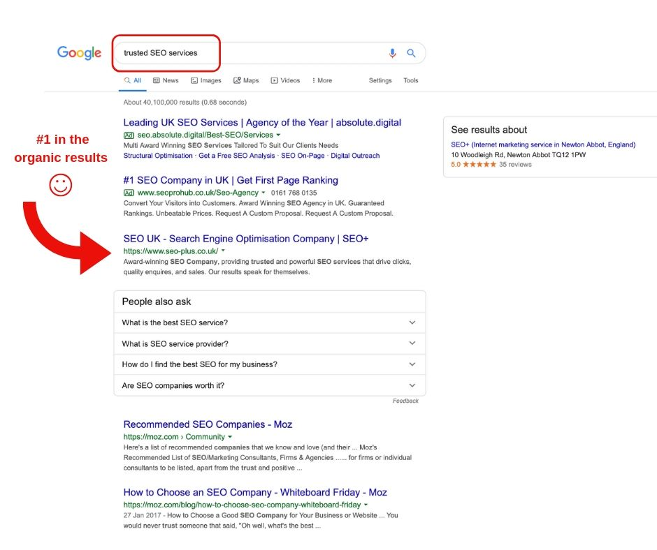 trusted seo services