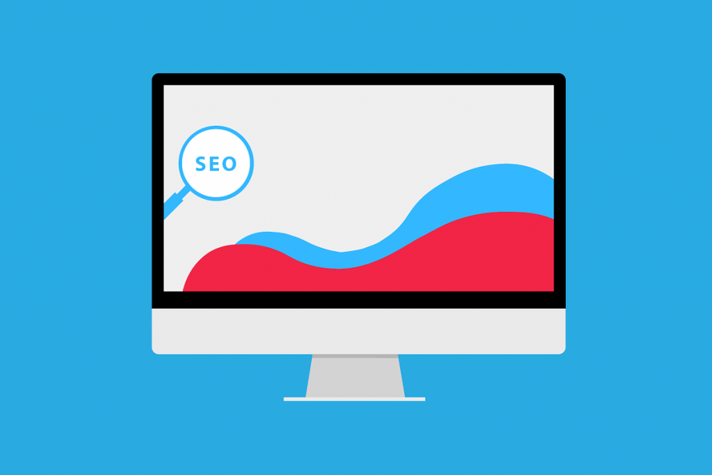 SEO Trends - A Graph Illustration