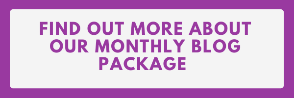 Monthly Blog Package