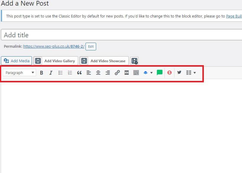 Formatting your blog in WordPress