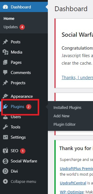How to add Plugins
