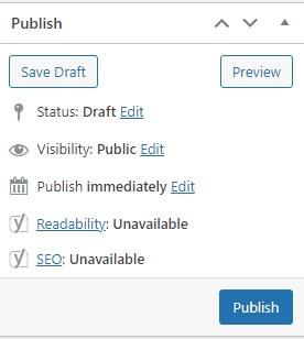 Publish your blog